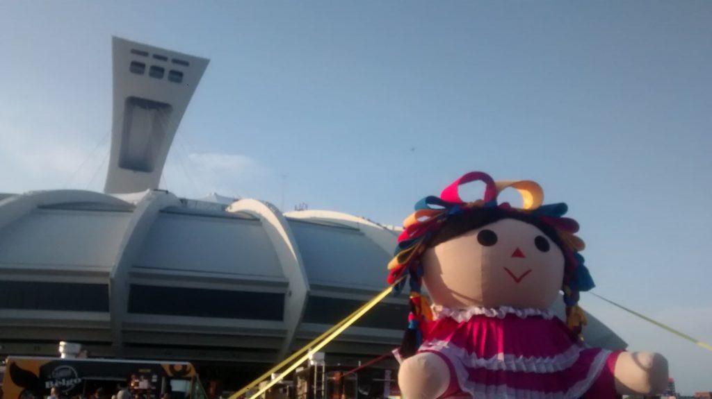 La muñeca Lele estuvo en Montreal
