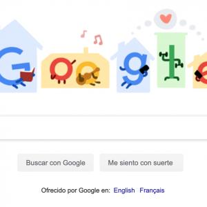 Google se queda en casa